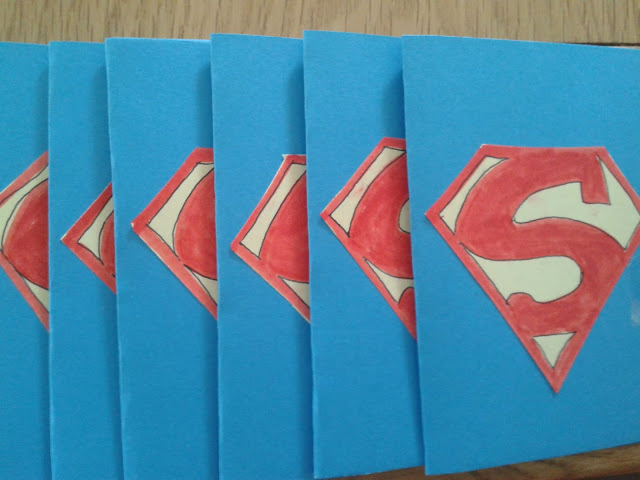 home made cards, party invitations