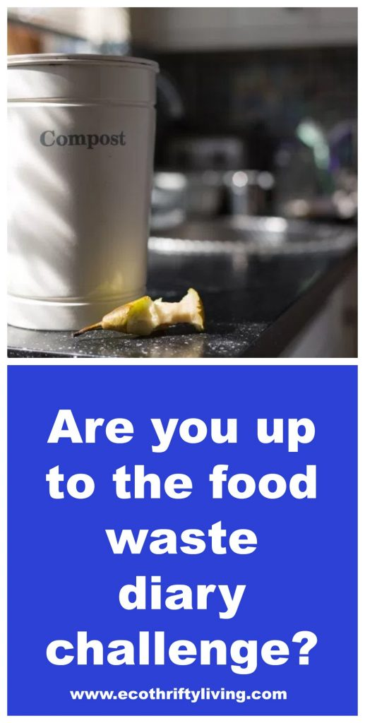 food waste diary challenge