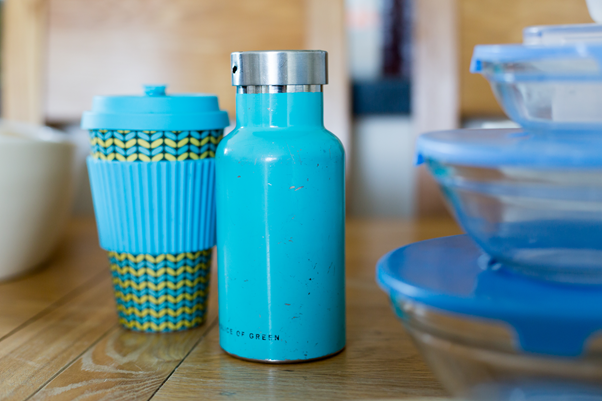 zero waste fails, reusables, reusable coffee cup, reusable water bottle