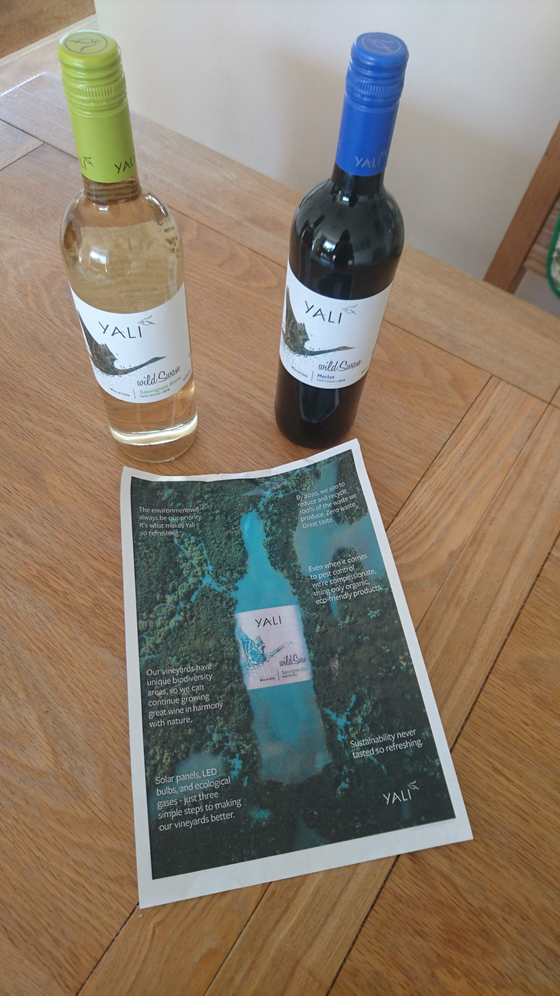 Yali, wine, sponsored post, review