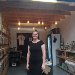 Zero waste shop, Debbie, Wastenot shop, Wastenot, zero waste