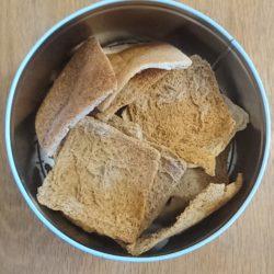 Melba toast recipe, melba toast, reduce food waste