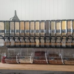 Zero Waste Shops UK, bulk food dispensers, zero waste shop