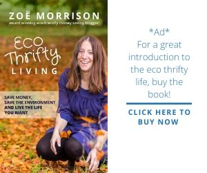 Eco Thrifty Living book ad