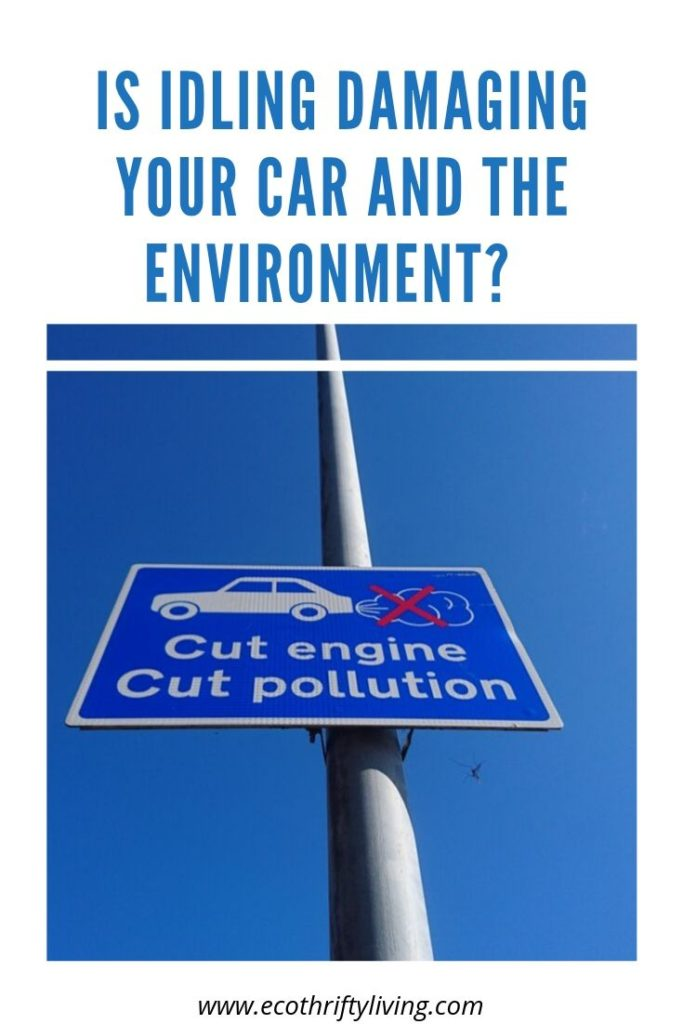 idling my car, cut engine, cut pollution