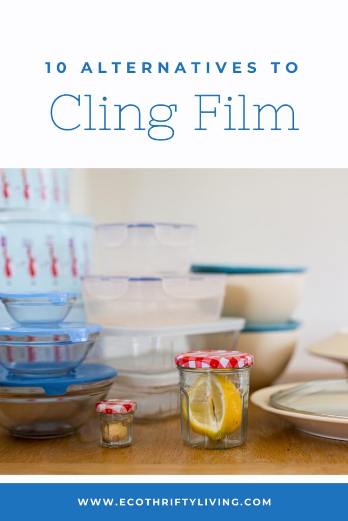 Alternatives to cling film