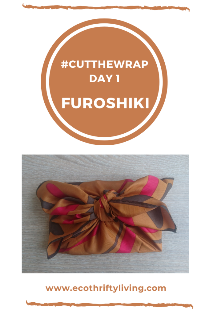 #cutthewrap, Furoshiki, wrapping paper alternatives