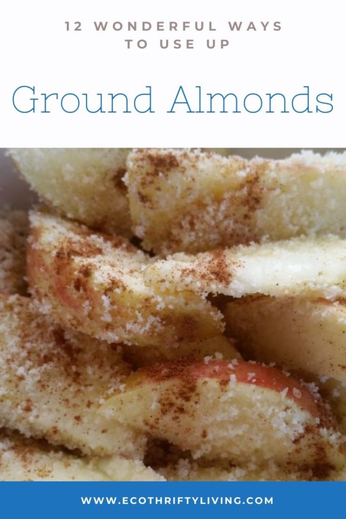 12 ways to use up ground almonds, use up ground almonds