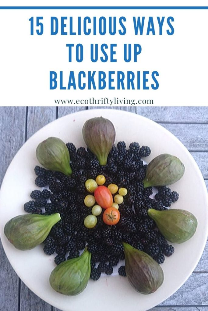 ways to use up blackberries