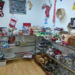 Eco-friendly budget Christmas, Charity shop, Charity shop at Christmas