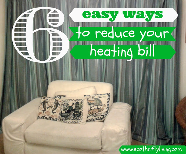 6 easy ways to reduce your heating bill
