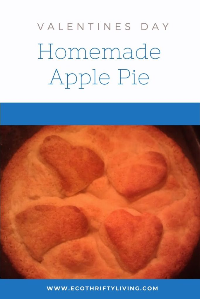 Homemade Apple Pie For Valentines Day