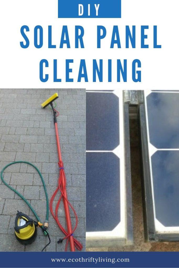 DIY Solar panel celaning