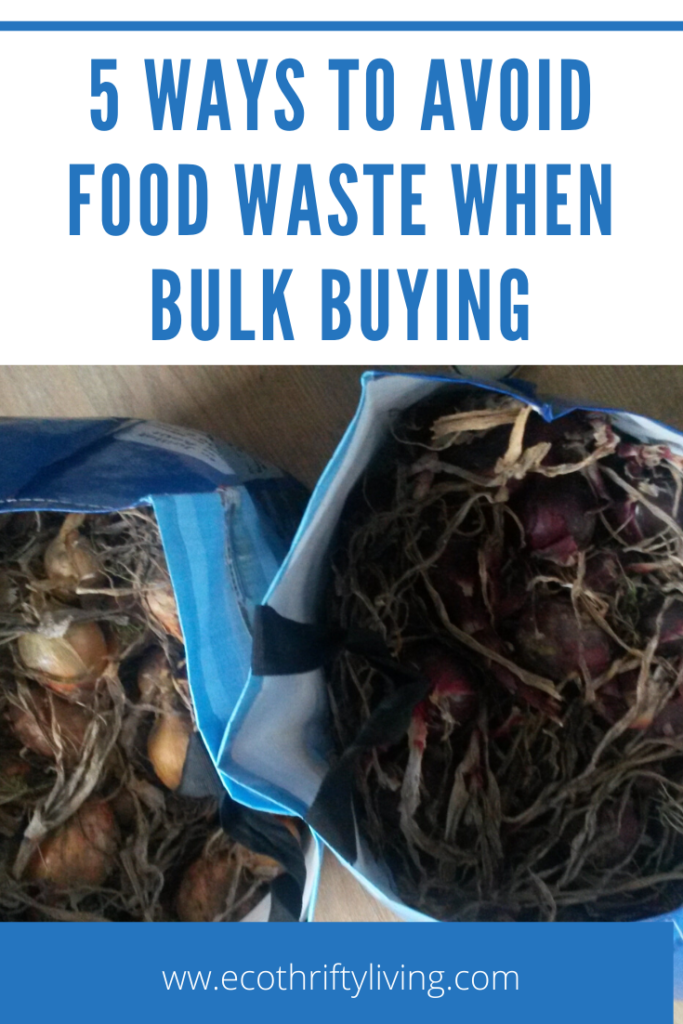 food waste, buying in bulk