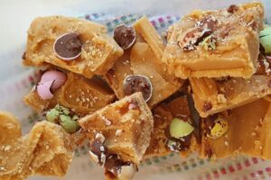 Condensed milk fudge
