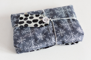 eco friendly gifts, reusable gift wrap, sustainable gifts