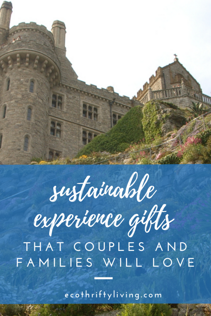 experience gifts, experience gifts for kids, experience gifts for couples, experience gifts for families, eco friendly experience gifts, sustainable experience gifts