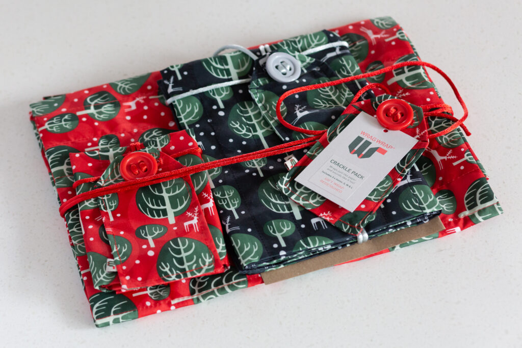 Wrag wrap, eco friendly wrapping paper