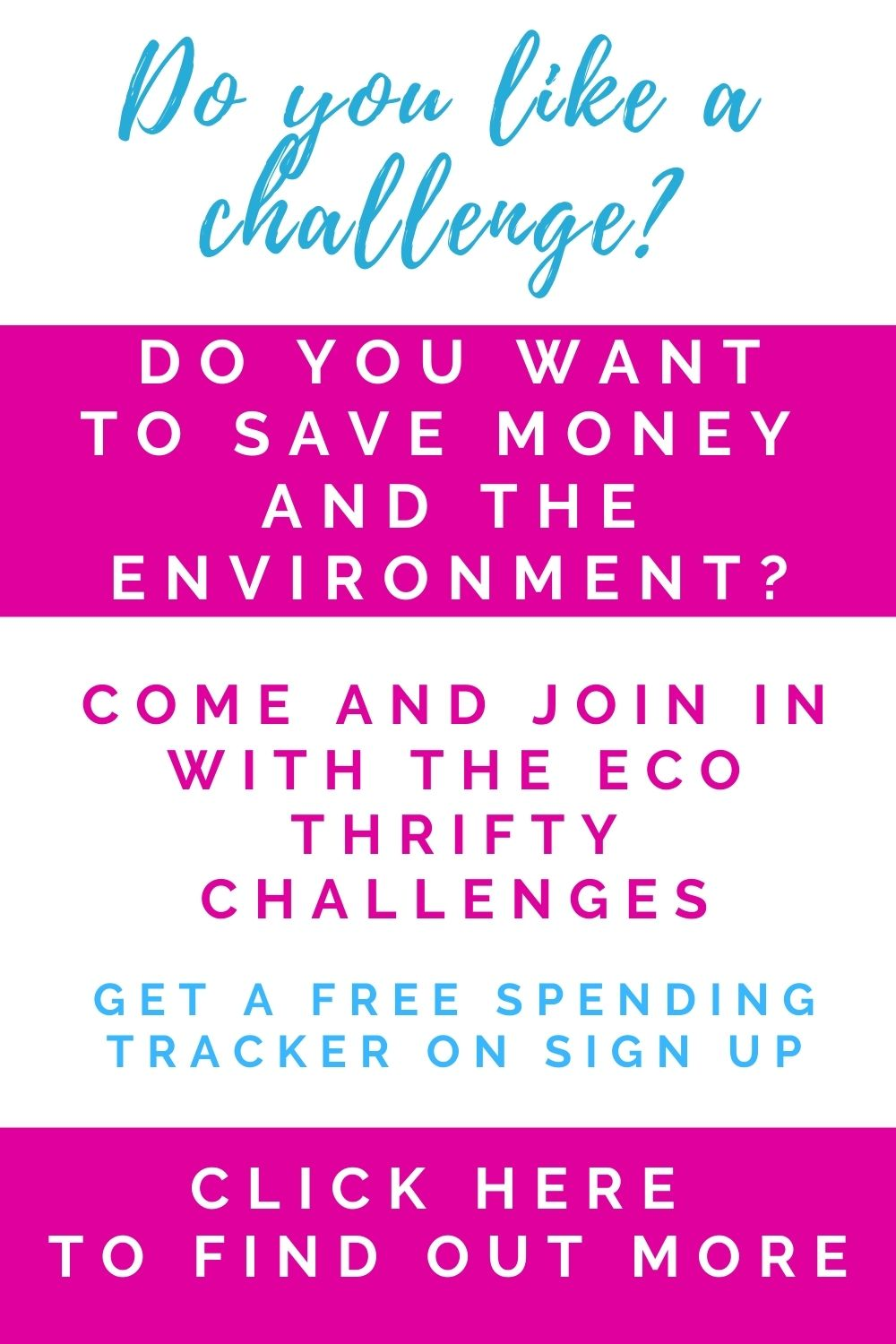 eco thrifty challenges